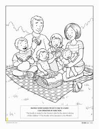 Lds Coloring Pages Family Prayer Zabelyesayancom