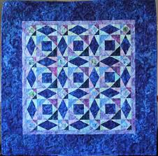 Nautical Quilt Projects on Craftsy & Large Blue Quilt with Geometric Patterns Adamdwight.com
