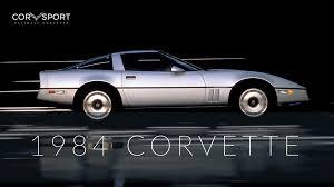 article contents show 1984 c4 corvette