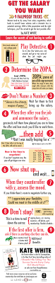 nine salary negotiation tips don t settle infographic the infographic