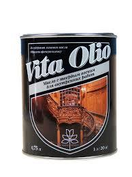 <b>Масло VITA OLIO для</b> внутренних работ с твердым воском ...