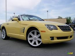 2007 Classic Yellow Chrysler Crossfire Limited Roadster #8647368 ...