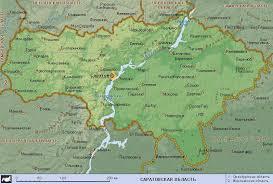 Подробная карта Саратовской области ru Подробная карта Саратовской области