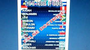 12 Tribes Of Israel Rastafari Chart Bedowntowndaytona Com