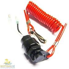 yamaha outboard motor kill switch amp safety lanyard dead image is loading yamaha outboard motor kill switch amp safety lanyard