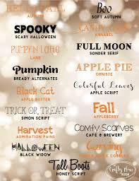 collage fonts free free fall halloween fonts the crafty mom design