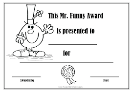 Superlative Certificate Funny Awards Templates Free Cassifields Co