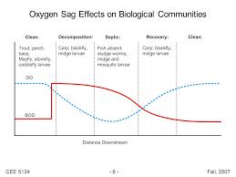 6 cee 5134 6 fall 2007 oxygen sag effects on biological communities