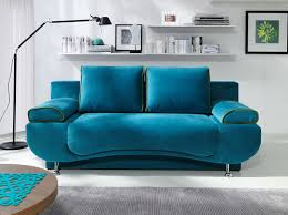 stylish blue sofa bed with sofa bed gizzi new