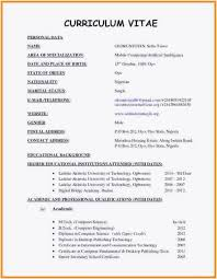 Besten Der Lebenslauf Doc Curriculum Vitae Resume Format Doc