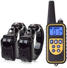 <b>800m Electric Dog</b> Training Collar Pet Remote Control Waterproof ...