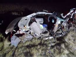 A suspended driver hospitalized after a spectacular wrong-way crash ...