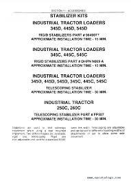 new holland ford 345d 445d 545d 250c 260c tractor loader service ford 345d 445d 545d 250c 260c tractor loader service manual pdf enlarge