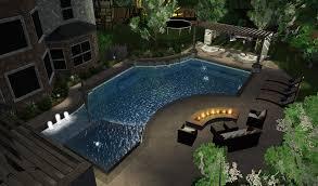 D Pool Studio Design Gallery Sunset Pools Inc Az Designs Swim Up Bar