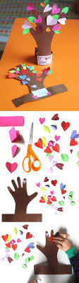 diy valentine s day gifts flowering tree from a kid s hand diy valentines day crafts for kids to make diypick com your daily source of diy ideas