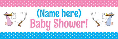 baby shower banners baby shower banners print a banner pvc banners for any occasion