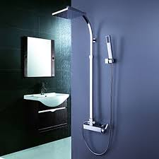 bathroom shower faucets. Faucets Images Contemporary Tub Shower Faucet With 8 Inch Head + Hand Wallpaper And Background Photos Bathroom