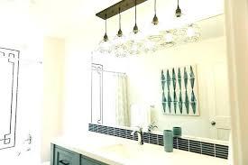 industrial bathroom vanity lighting. Industrial Vanity Bathroom Light Green With Black Tiles Style Lighting N