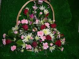 Basket Flower Decoration Harpenden Bouquets Flower Arrangements
