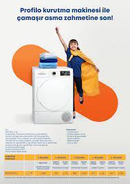 Profilo kurutma makinesi ile çamaşır asma zahmetine son!