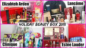 holiday beauty box 2016 estée lauder lancôme elizabeth arden clinique lise watier chitchat you