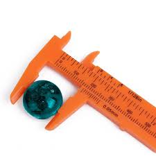 Small Metric Weight Bead Gauge Calipers Small Orange Metric Gauge Handy