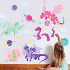 astro dragons wall good dragon wall decals