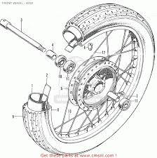Honda cb350k4 australia front wheel axle buy front wheel axle rh cmsnl hub measurement diagram