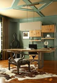 Organic Office Rustic Eclectic Modern Dining Room Study Home Office Design