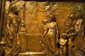 Decorating trinity doors pics : Bronze Door Details Trinity Church New York City Modeled On The ...