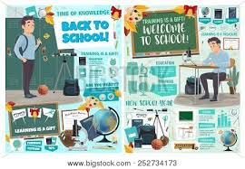 Biology Charts And Posters Back School Posters Vector Photo Free Trial Bigstock