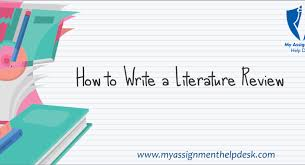 Literature Review Outline How To Write A Literature Review Literature Review Outline