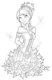 Free Printables Anime Style Characters Coloring Pages Printables