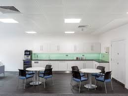 Open plan office design birmingham Ideas In Addition To Open Plan Benching The Office Features Meeting Rooms Lounge Areas And Multifunctional Kitchen That Can Transform Into An Intimate Client Nineteen 25 Design Project Archives Nineteen 25 Design
