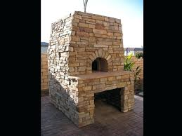 fireplace oven custom masonry outdoor pizza oven brick oven fireplace combo plans