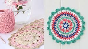 Free Crochet Mandala Pattern Stunning Pinteresting Projects Free Crochet Mandala Patterns LoveCrochet Blog