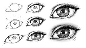 How To Draw Eyes Step By Step How To Draw A Female Eye Step By Step