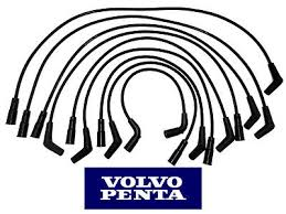 new volvo penta engine circulating water pump v6 v8 4 3 5 0 5 7 genuine volvo penta v8 5 0l 5 7l spark plug wire set 3888328
