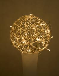 light beam ceiling lamp yellow lighting decor circle ornament symmetry ball light fixture sphere led chandelier