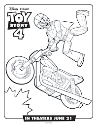 Discover our archives of coloring pages and you'll find something useful. Free Printable Toy Story Duke Caboom Coloring Page Mama Likes This