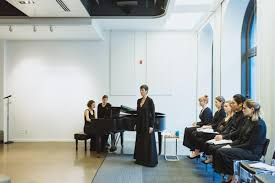 into a multi disciplinary space to accommodate a performance a lecture an intimate round table discussion as well as tea sconeacarons
