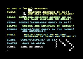 Csdb Hello 1 By Vortex 42 1987