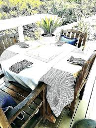 outdoor tablecloth with zipper decor tips mesmerizing tablecloths umbrella hole and round