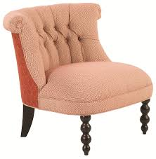 Small Accent Chairs For Bedroom Robin Bruce Accent Chairs Haight Rolled Back Chair With Decorative