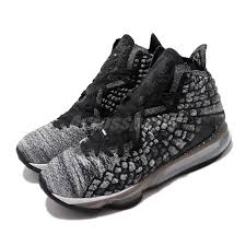Lebron Shoe Size Chart Details About Nike Lebron Xvii Ep 17 Black White In The Arena James Basketball Shoe Bq3178 002