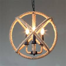 rope light fixture hemp rope iron globe ball vintage pendant light hanging lamp country industrial rustic rope light fixture