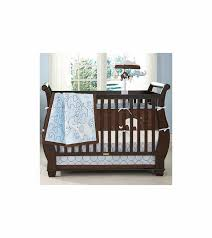 carter crib sheets baby carter s blue elephant 4 piece baby crib bedding set