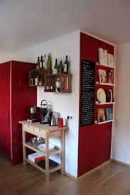 Küche Rote Küche Küchen Esszimmer Ideen Und Wandfarbe Küche