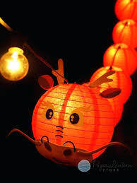 chinese lantern string lights 8 new year red dragon paper lantern string light combo kit ft chinese paper lantern string lights nylon chinese lantern string