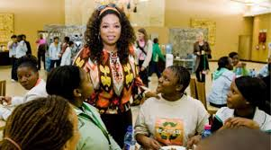 oprah winfrey s art festival at her south african school ny oprah winfrey opened the gates of the oprah winfrey leadership academy for girls to the media